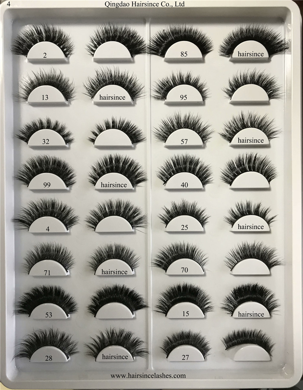 Wholesale lashes products factory lashes supply 3D mink hair lashes popular styles from Alibaba