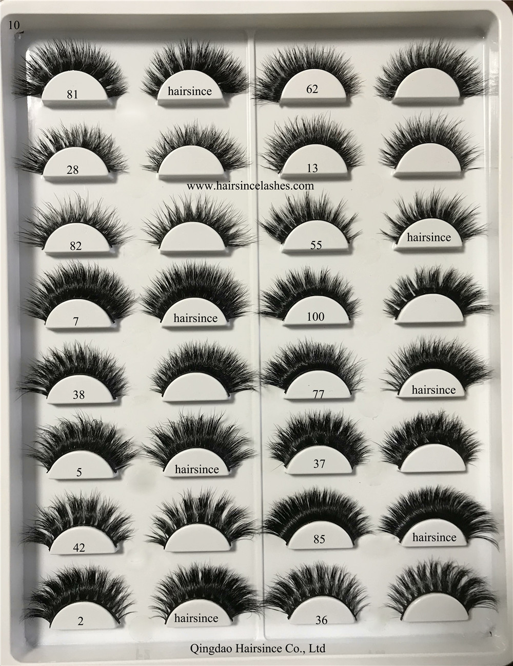 Wholesale price mink hair lashes 3D lashes 3D silk hair lashes available
