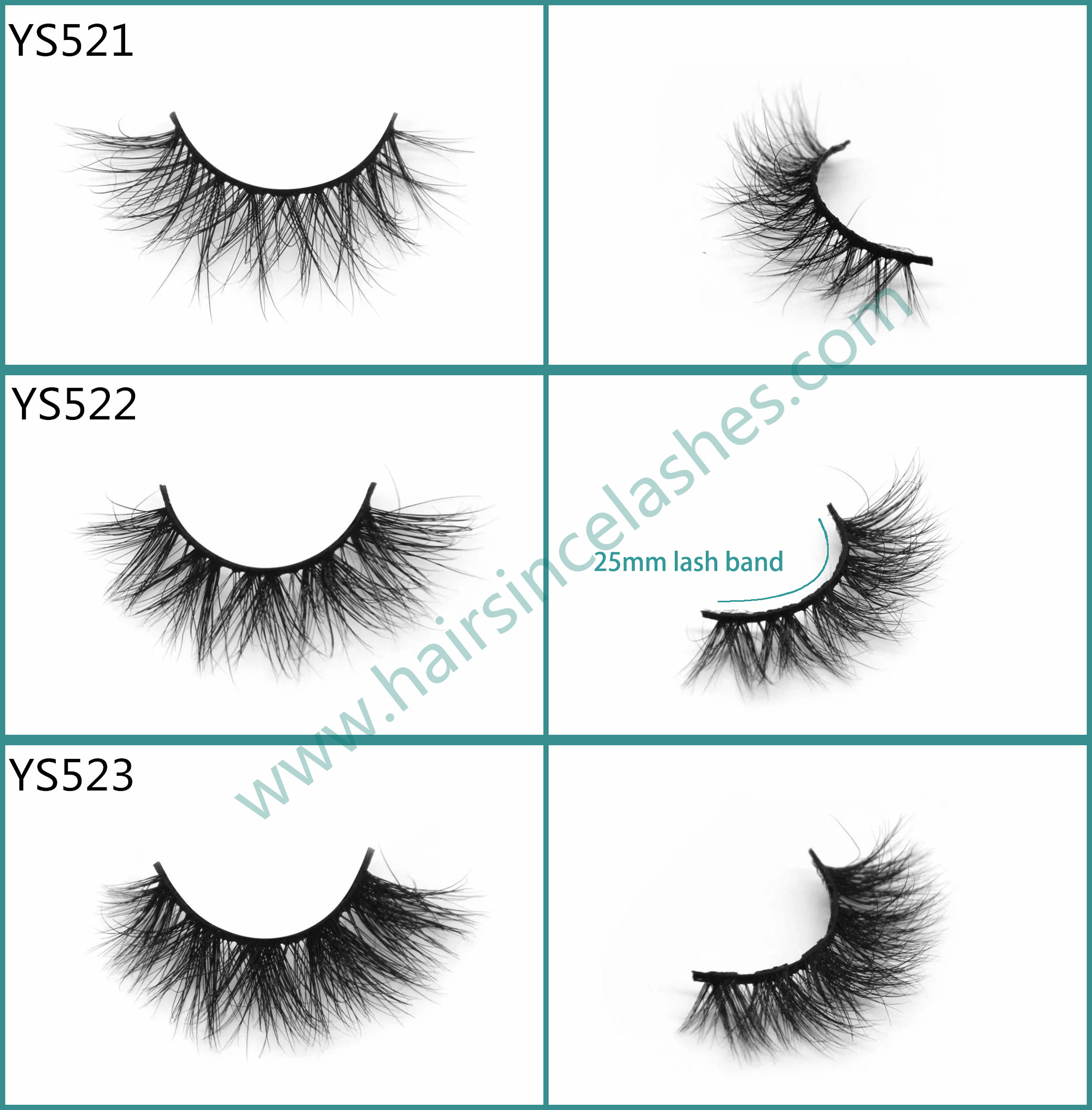 a2bbcde598e Wholesale price hot popular styles 3D mink hair lashes with short styles  cotton band from factory