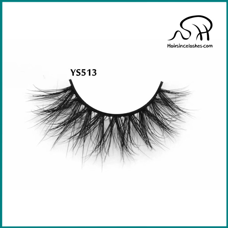 d5ee830f7b5 Mink hair lashes with small band natural 3D curls volume style mink lashes